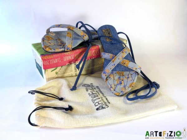 Upcycling Art Community - Campaign for Recycled Tires Sandal Accessories Recycled Rubber