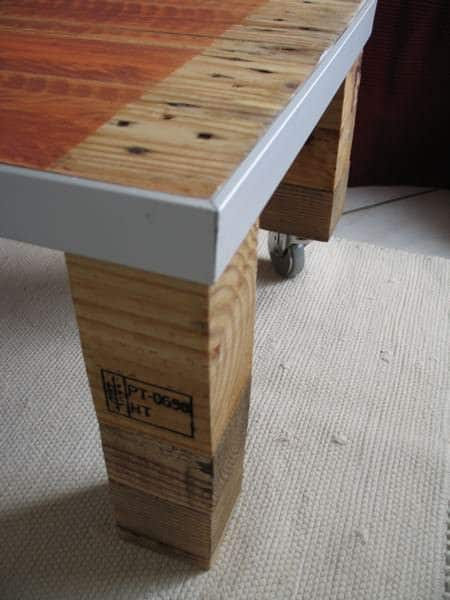 Industrial Pallet Coffee Table Recycled Pallets