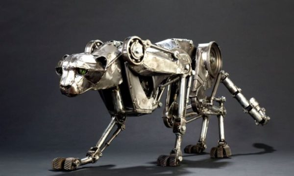 Animais Mecânicos Por Andrew Chase Recycled Art