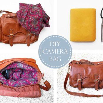 Recycled Mattress Foam Camera Bag
