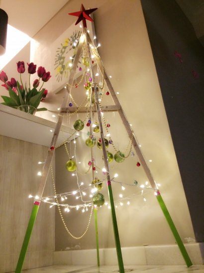 DIY: Christmas tree