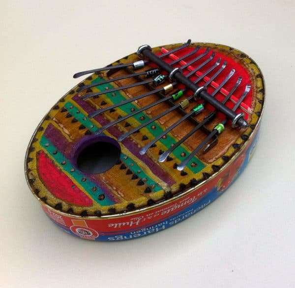 Recycled Sardine Can Into Kalimba Accessories Recycling Metal