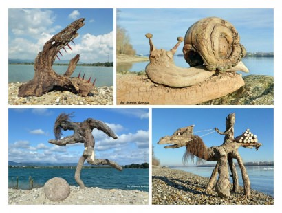 Driftwood Art in Hungary by Tamas Kanya