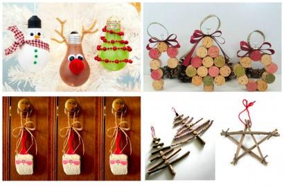Ideias criativas para fazer uma decoração de natal bonita