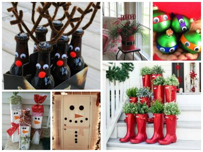 6 original christmas crafts !