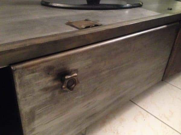 Meuble Industriel / Industrial TV Stand Recycled Furniture