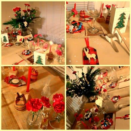 Green Decorations & Table Accessories For A Festive Xmas Arrangement