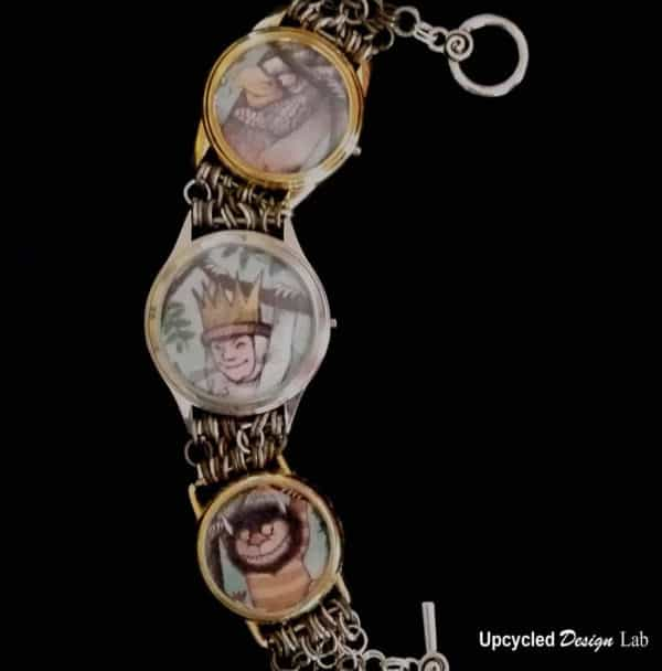 Upcycled Watches - Picture Charm Bracelet Tutorial Upcycled Jewelry Ideas