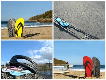 TireFlops: a Fashionable and Sustainable Footwear Solution