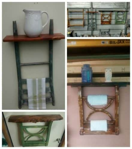 Upcycled Chair Backs