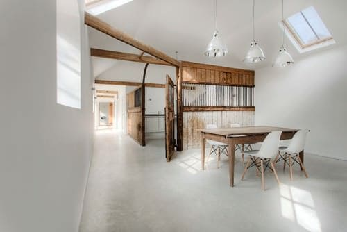 Stables Converted Into Guest House Home Improvement