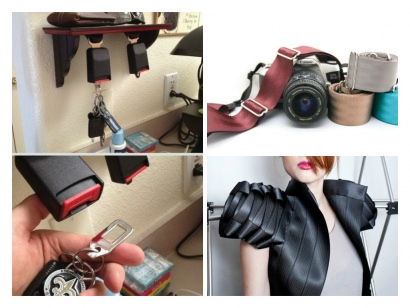 6 ways to repurpose seatbelts