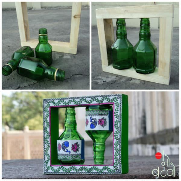 Trash to Treasure Recycled Art