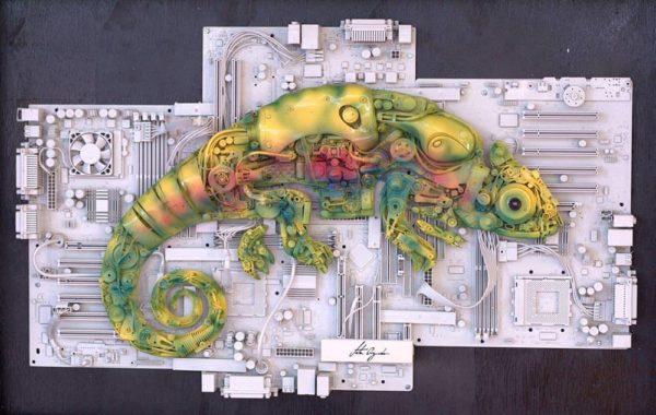Conheça a Coleção 'animale' De Jota Azevedo / 'animale' Collection by Jota Azevedo Recycled Art