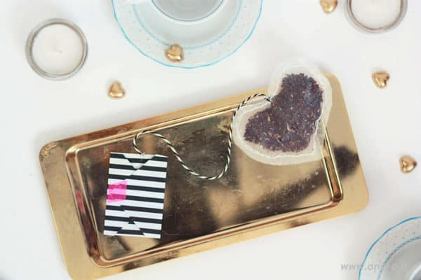 Diy Heart Tea Bags + Envelope Do-It-Yourself Ideas
