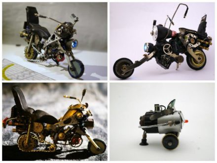 Tiny Glue-gun Bike