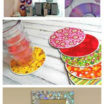 Ideias Simples para Reciclar CDs Velhos
