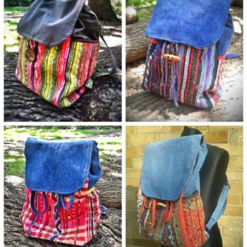 Threadericks Upcycled Bags
