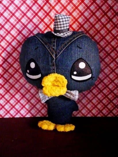 Shy Pingu by Georgina Verbena