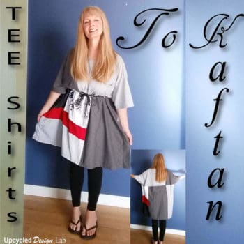 Men's T-shirts to Kaftan Dress Tutorial