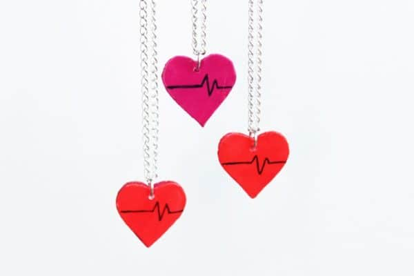 DIY: Upcycled Heart Charms Do-It-Yourself Ideas Upcycled Jewelry Ideas