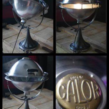 Lampe Fabriquée avec un Vieux Chauffage