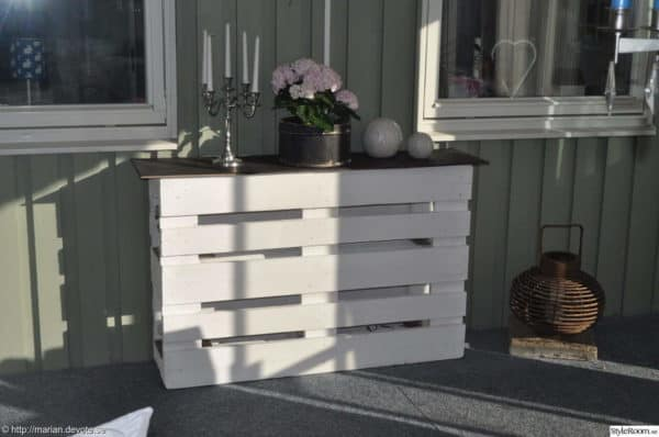 Pallet Counter Bar Recycled Pallets