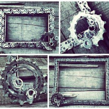 Custom Bike Chain Frame or Chalkboard