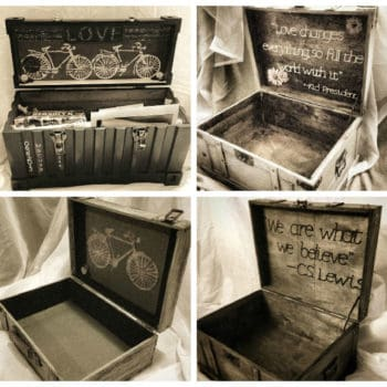 Decorative Wooden Keepsake Box