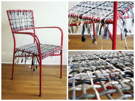 Upcycled Cable Chair