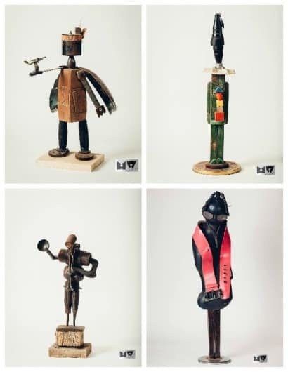 Upcycled Sculptures by Michał Wawrzyniak
