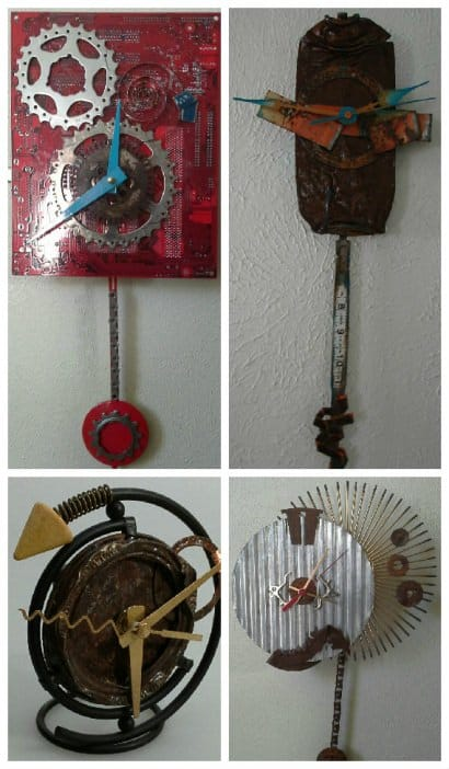 Recycled Clocks