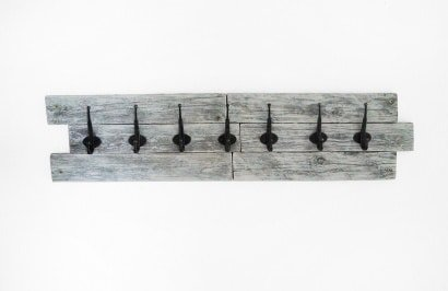 Pallet Upcycled Into Beautiful Coat Rack