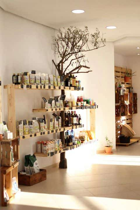 Orange Tree Shelf Wood & Organic