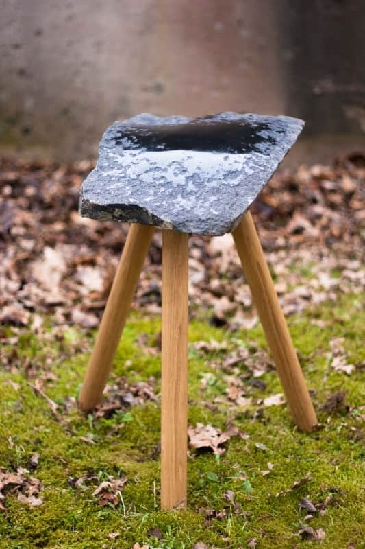 Diy: From Stone To Stool Recycled Furniture