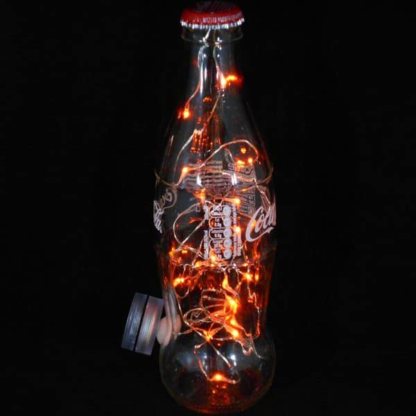 Making a Coca-cola Bottle Light Lamps & Lights Recycled Glass