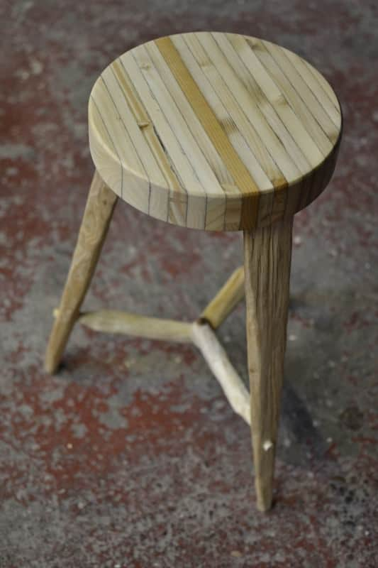 Recycled Pallet Into Stools Recycled Furniture Recycled Pallets