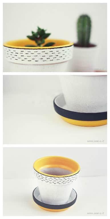 Diy: Terracotta Vase Restyling