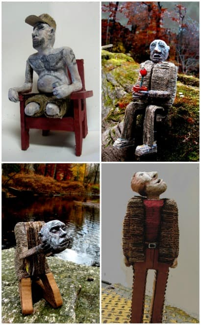 Found Object Sculptures by Salvatore Cerceo