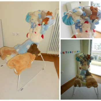 DIY: Toys Patchwork Chair
