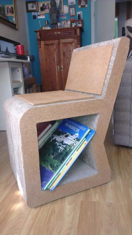 Corrugated Paper Chair