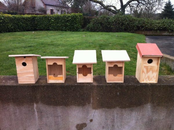 Upcycled Wine Bottle Crates Into Birdhouses Accessories Wood & Organic
