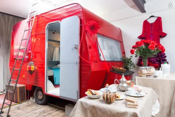 Best of Converted Guesthouses: Trucks, Caravans, Planes, Trains & Wagons to Rent on Airbnb Home Improvement Mechanic & Friends