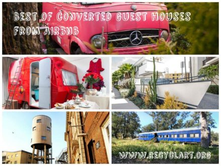 Best of Converted Guesthouses: Trucks, Caravans, Planes, Trains & Wagons to Rent on Airbnb