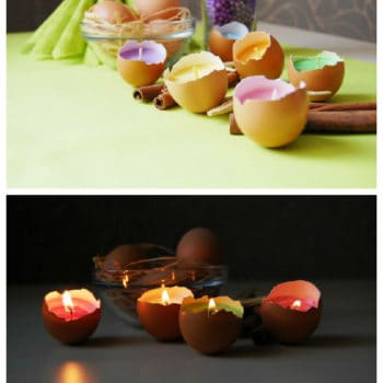 Real Eggshells Candles