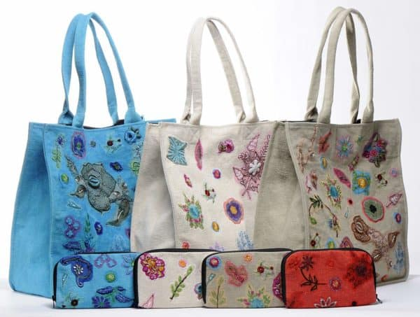 Recycled Cotton And Recycled Sarees Make Wonderful Bags Accessories Clothing