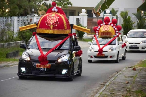 Homemade Chinese Wedding Car Decoration Do-It-Yourself Ideas