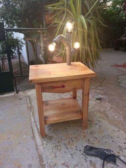 Tube Light Table