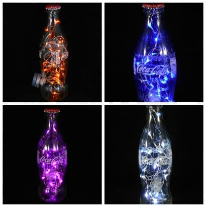 Making a Coca-Cola Bottle Light