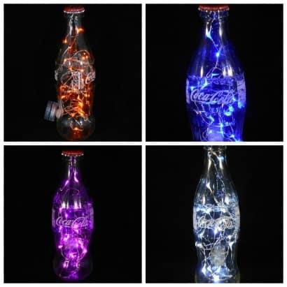 Making a Coca-Cola Bottle Light